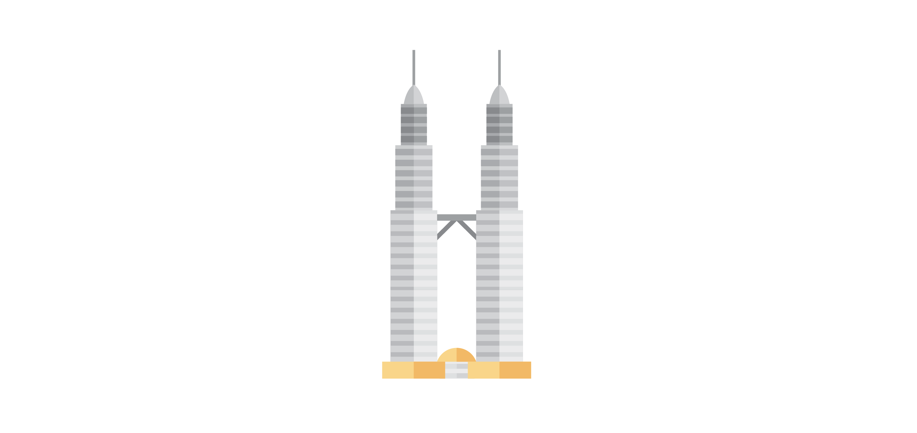 KLCC Icon Vector