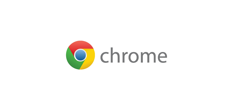 chrome logo vector