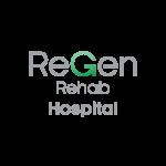 regen rehab hospital logo vector