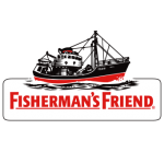 fishermans friend logo vector