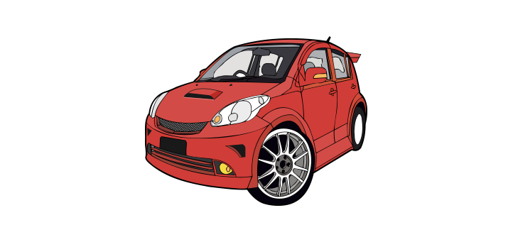myvi-vector-car