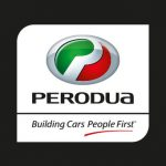 perodua logo text vector