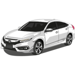 New Honda Civic Vector