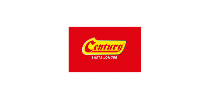 century-battery-logo-vector
