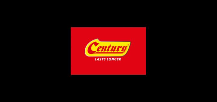 century-battery-logo-vector