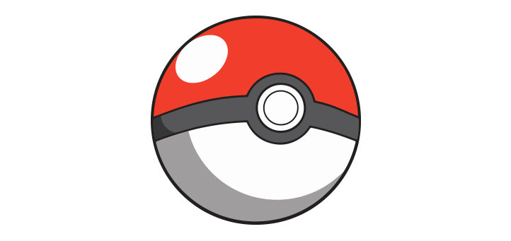 pokeball-vector