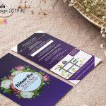 Kad Kahwin Design Vector 2019 #2
