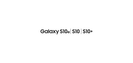 Galaxy S10 Logo Vector