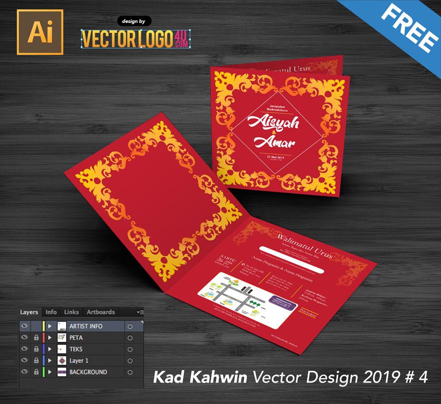 Kad KAhwin Vector Design Template