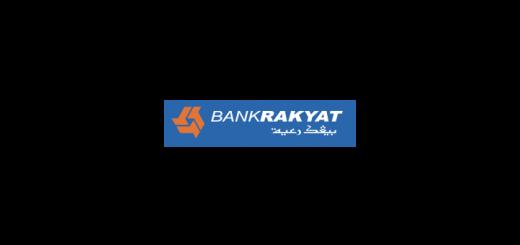 Bank Rakyat Logo Vector Blue