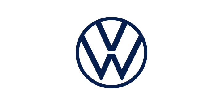 Volkswagen new logo vector