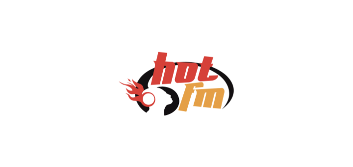 hot fm logo vector