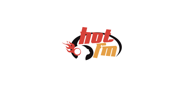 hot fm logo vector