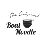 Boat Noodle Logo Vector