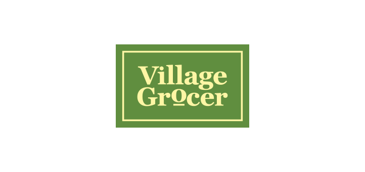 Village Grocer Logo Vector