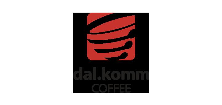 dalkomm coffee logo vector