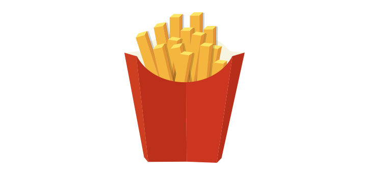 French-Fries-Vector