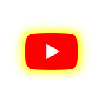 YOUTUBE Neon Logo