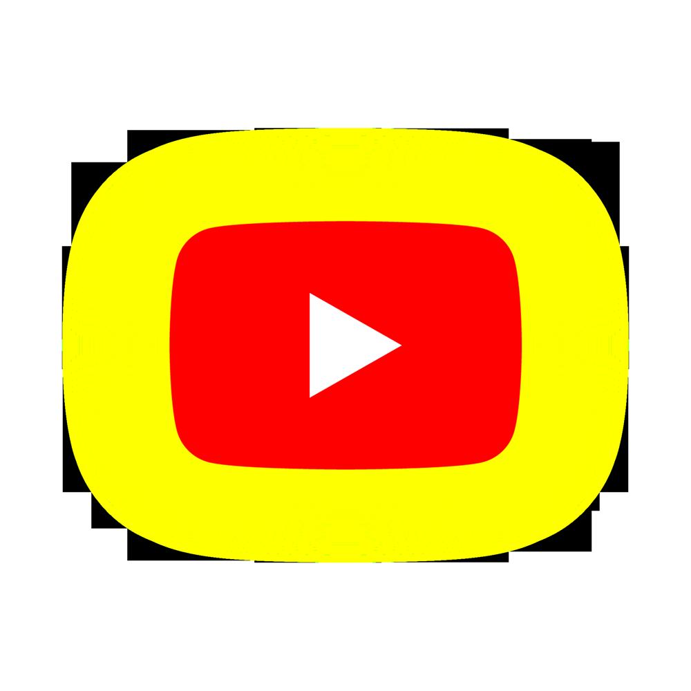 youtube neon logo