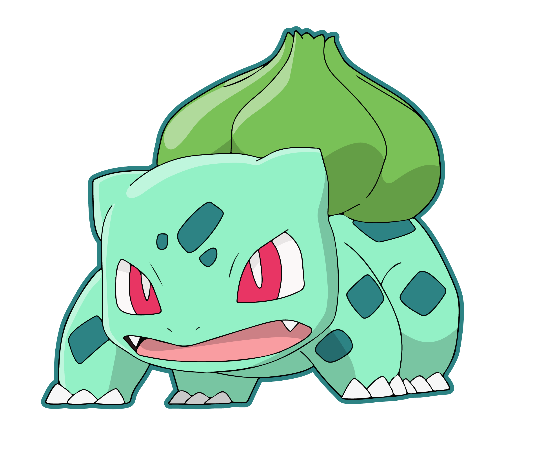 bulbasaur vector
