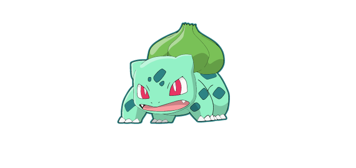 bulbasaur vector pokemon