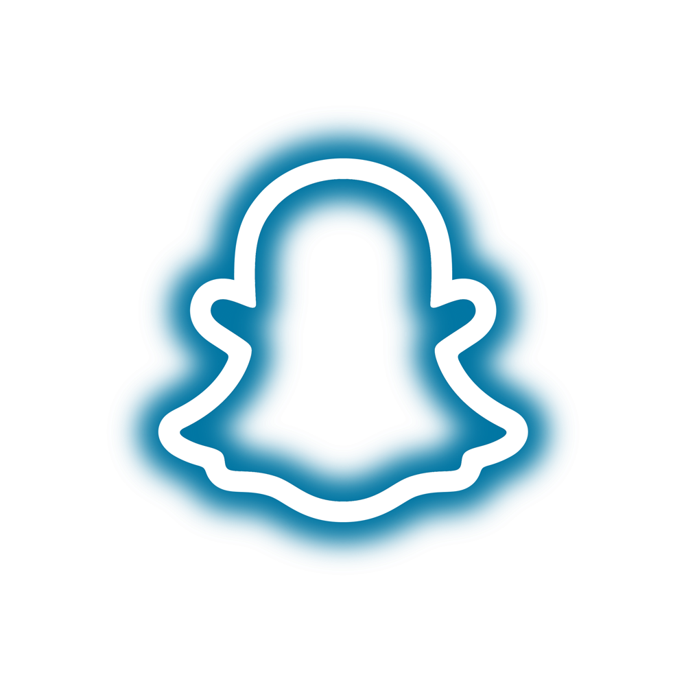 Neon Snapchat Logo Brand Logo Collection