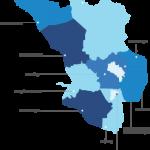 peta selangor maps vector