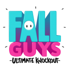 Fall Guys Logo Vector