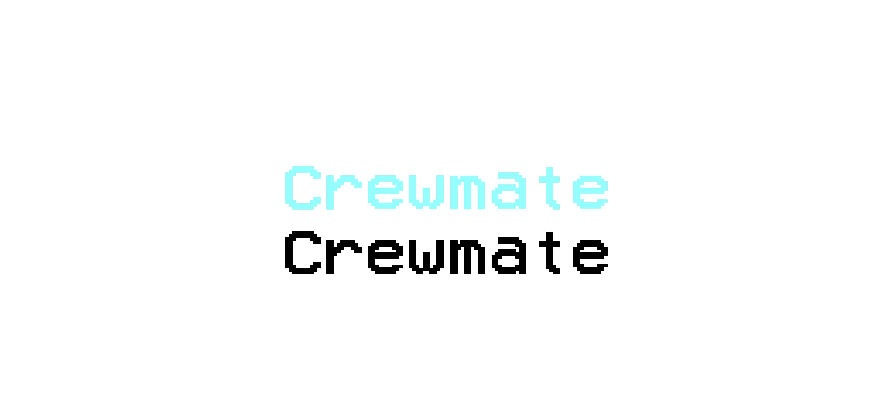 crewmate among us text