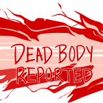 Among Us Dead Body Reported Vector