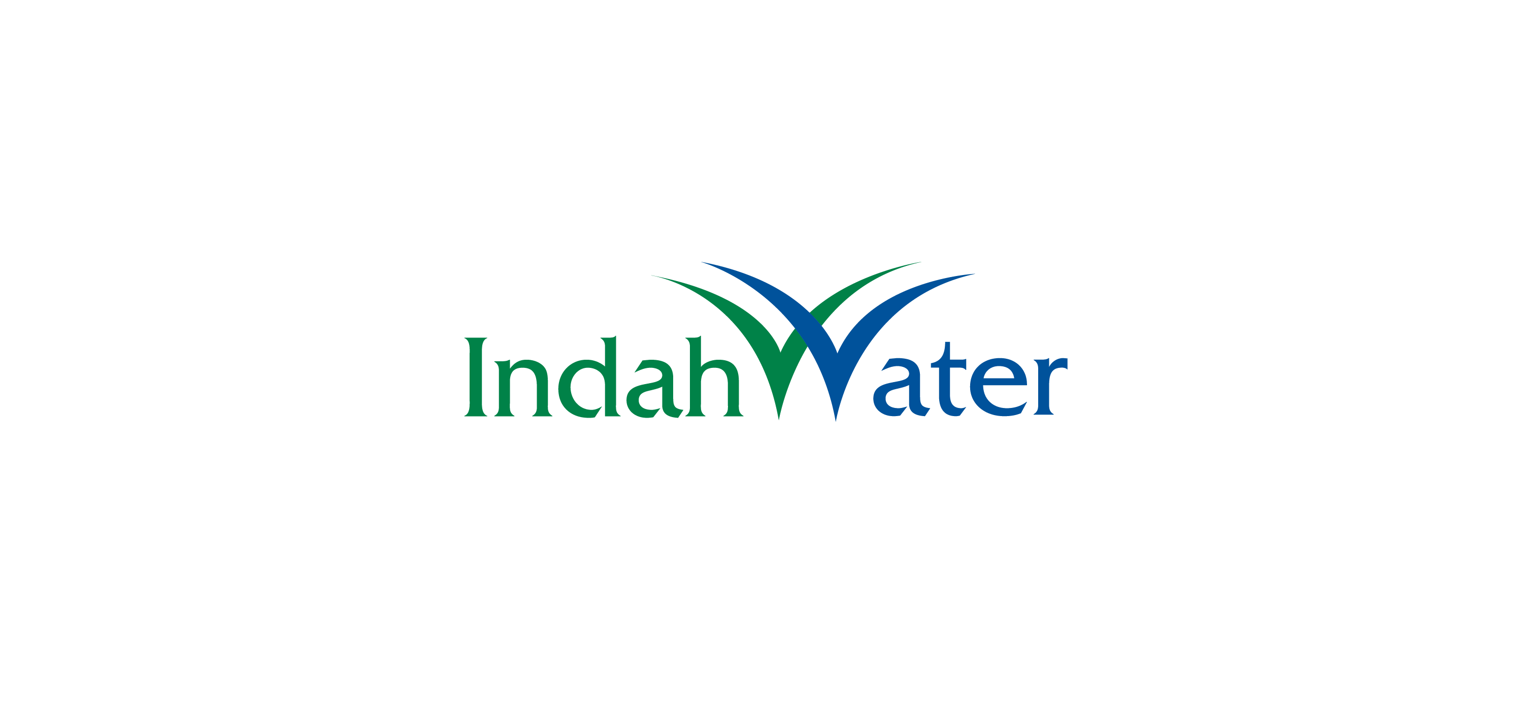 indah water logo vector