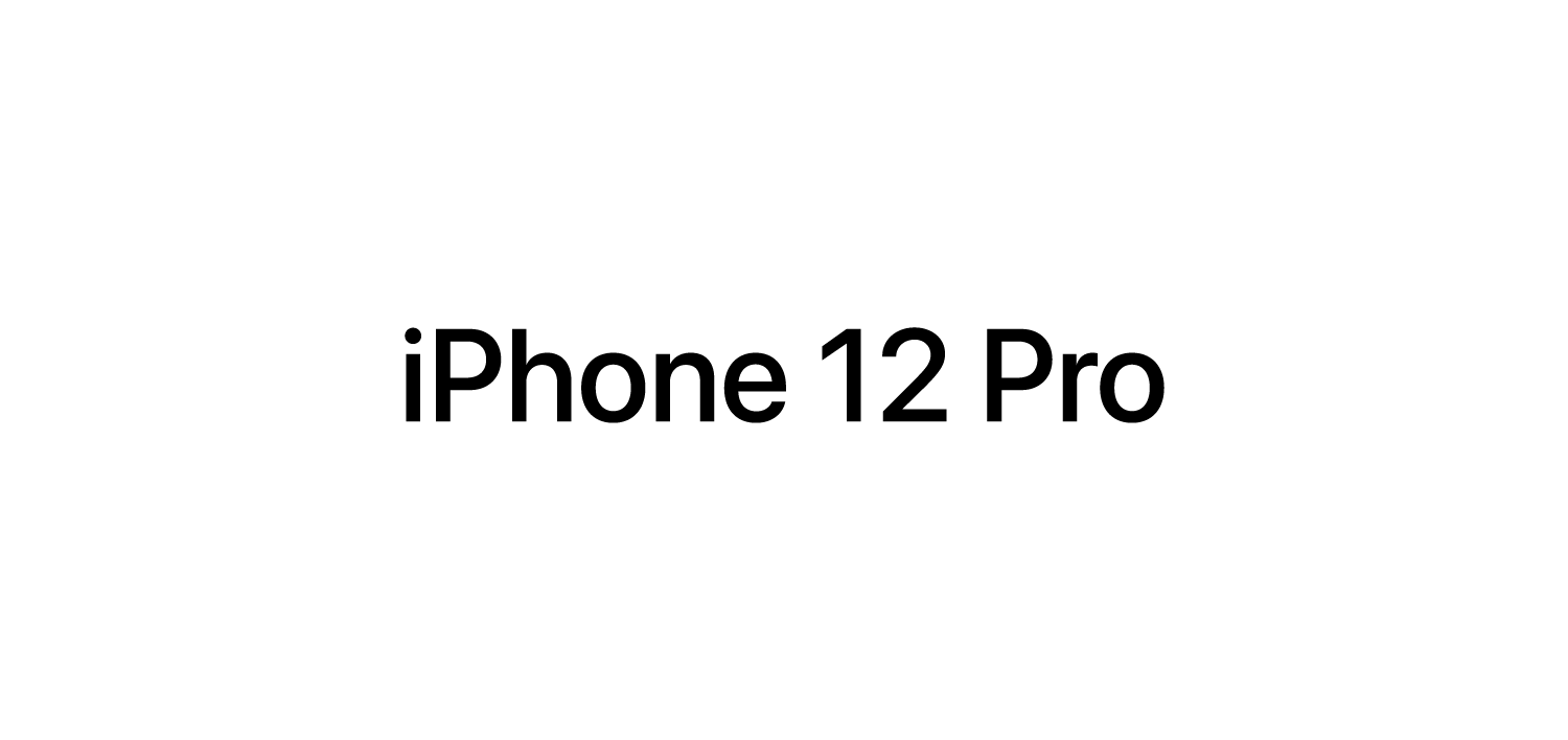 iphone 12 Pro vector
