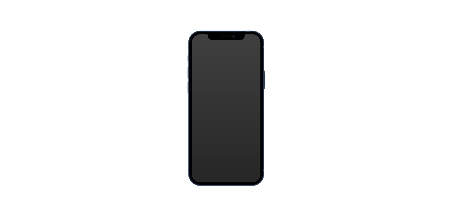 iphone 12 vector body