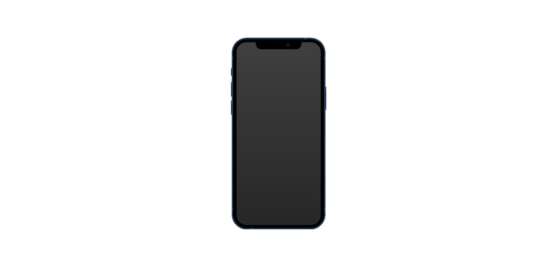 iphone 12 vector body