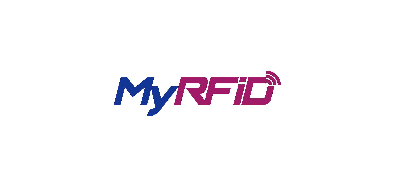 myrfid logo vector