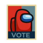 vote among us vector