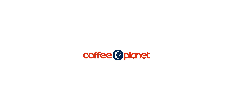 Coffee Planet logo Vector