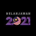Logo Belanjawan 2021 Vector