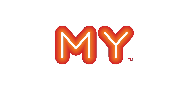 MY Fm logo vector