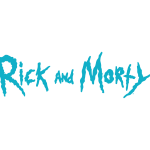 Rick and Morty Logo Vector