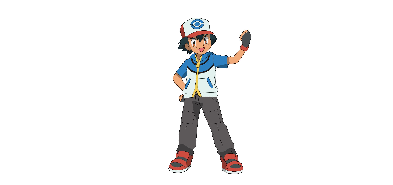 ash pokemon Vector