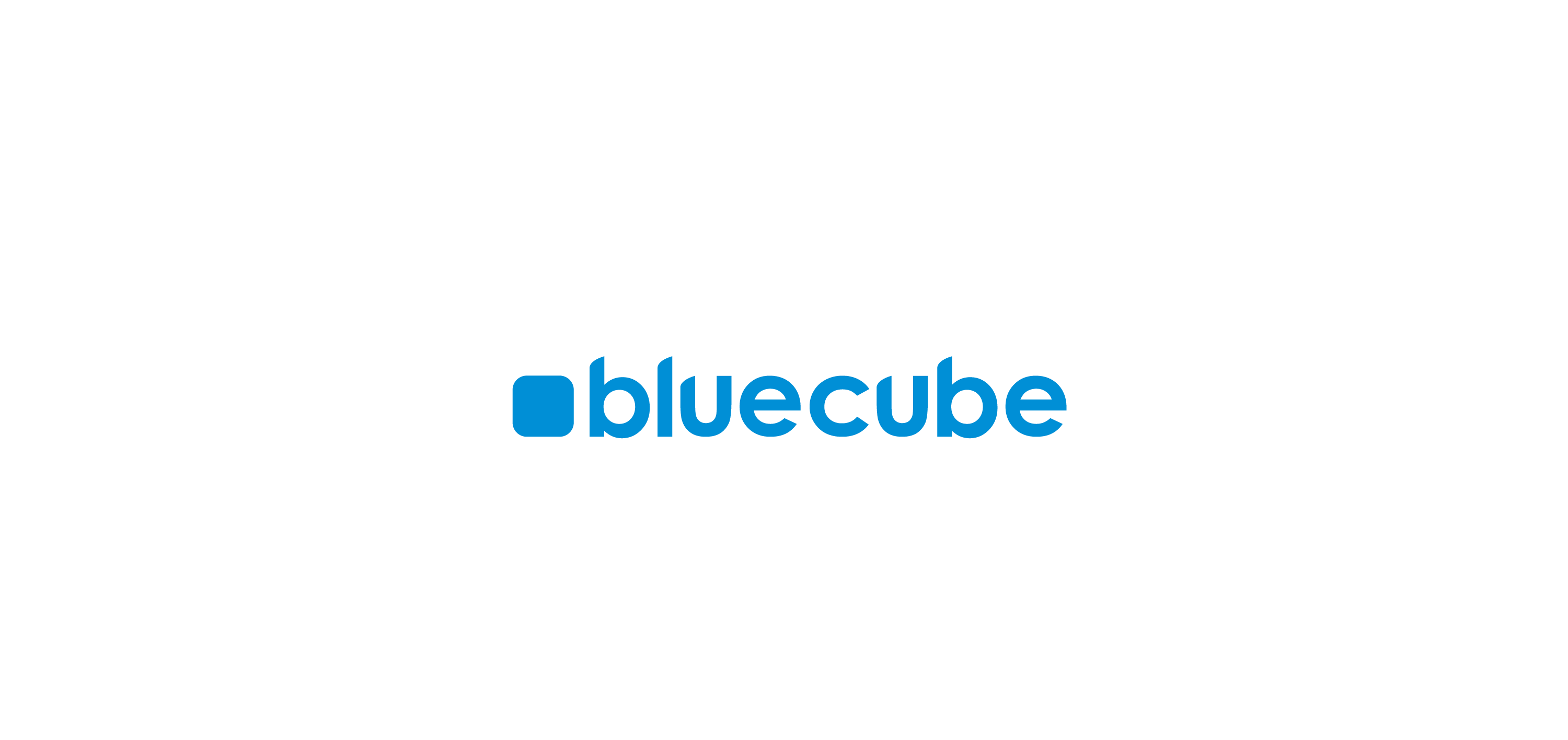 bluecube logo vector