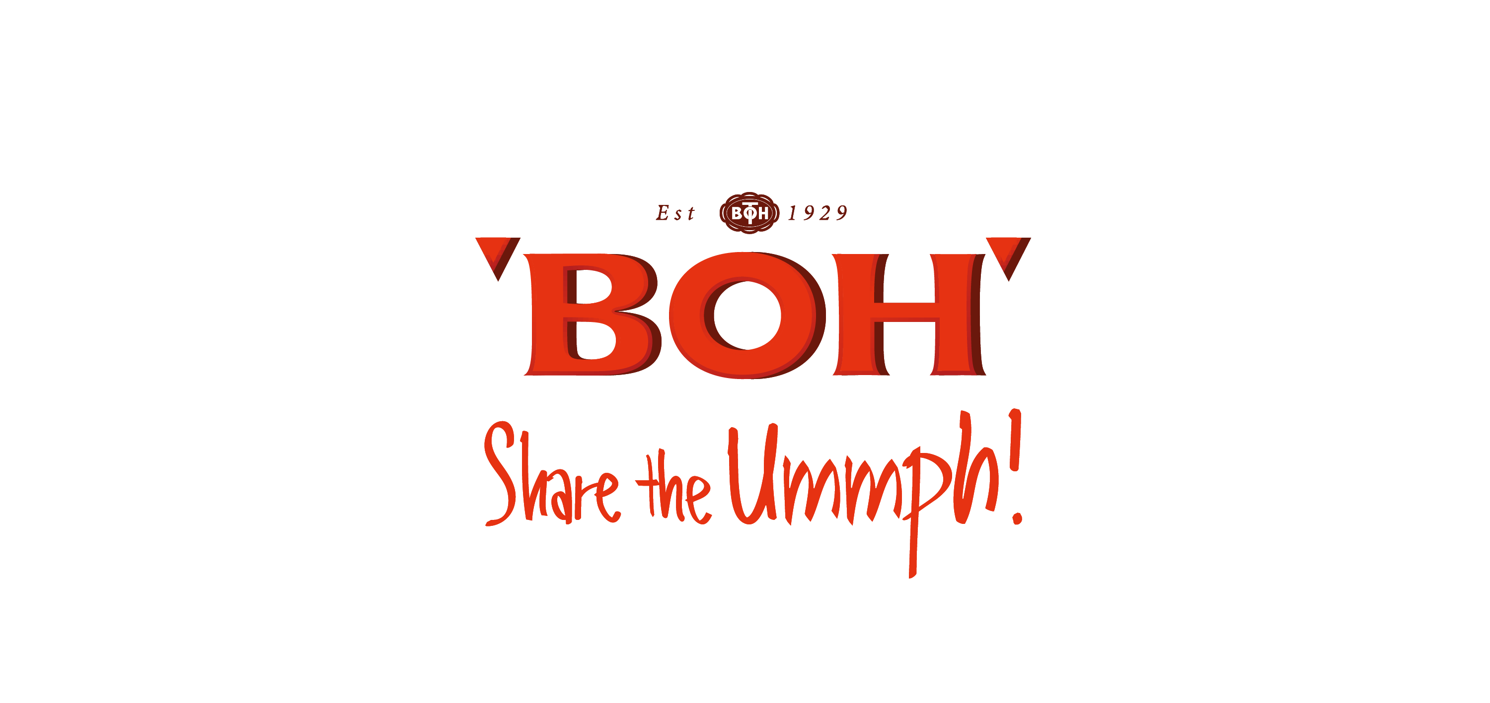 boh tea logo vector
