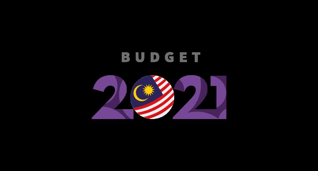 budget 2021 logo vector