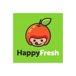 Happy Fresh Logo Vector