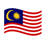 Malaysia Flag Wave Vector