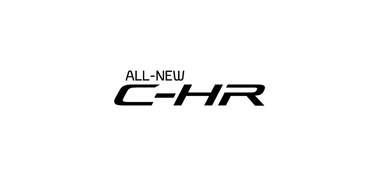 toyota chr logo vector