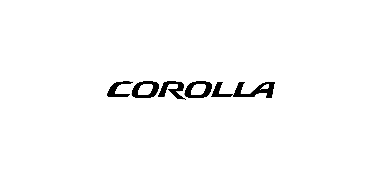 toyota corolla logo vector