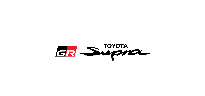 toyota gr supra logo vector