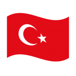 Turkey Wave Flag